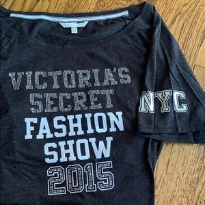 Victoria's Secret fashion show 2015 t shirt